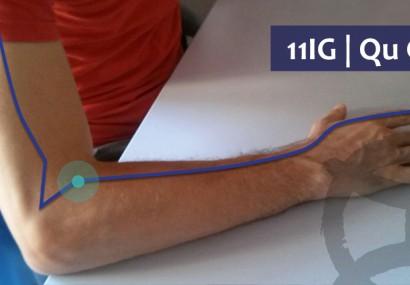 ¿Picor en la piel? el punto de acupuntura 11IG puede ser útil