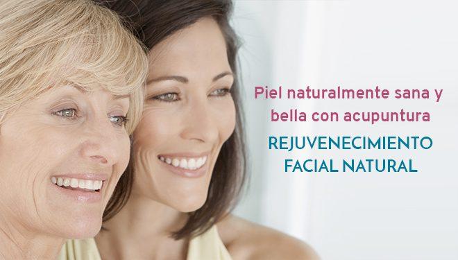 Rejuvenecimiento facial natural con acupuntura