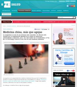 Thomas Richard entrevistado por EFE Salud