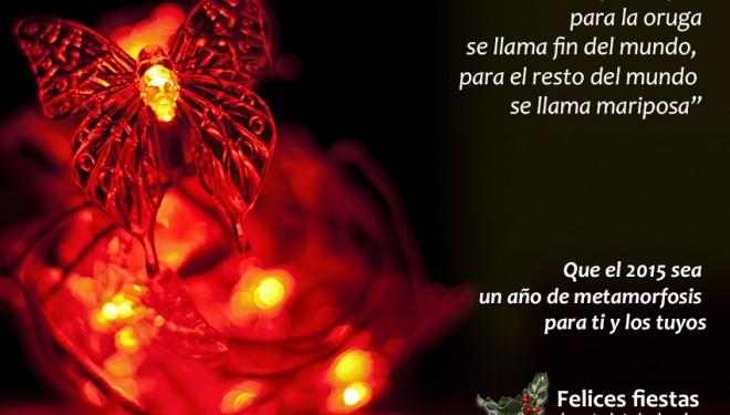 2015, el año de la transformación ¡Felices fiestas!