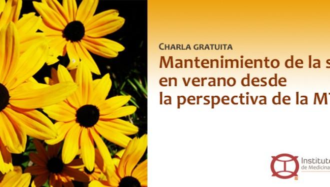 CHARLA GRATUITA | Mantenimiento de la Salud en Verano