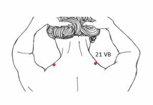 21VB - punto de acupuntura