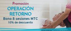 OPERACIÓN RETORNO – Bono de 8 sesiones de MTC con 10% de descuento
