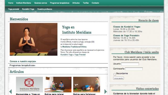 Nueva sección dedicada al Yoga