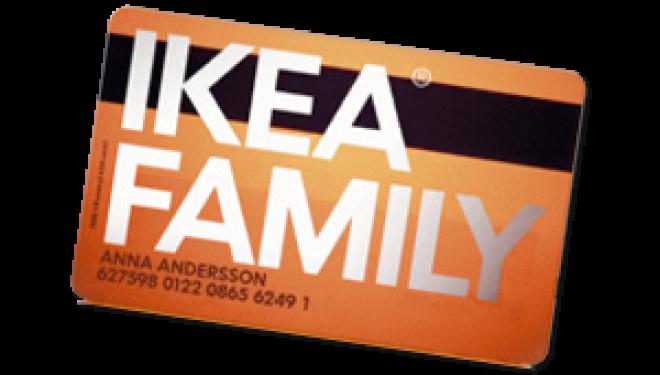 Oferta especial para miembros IKEA FAMILY
