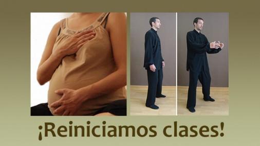 Clases de Yoga para embarazadas y Qi Gong: reiniciamos!