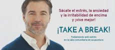 ¡TAKE A BREAK! Tratamiento anti-estrés con acupuntura en Sala Comunitaria